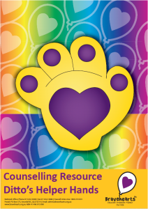 Ditto's Helper Hands Notepad [COUNSELLING RESOURCE]