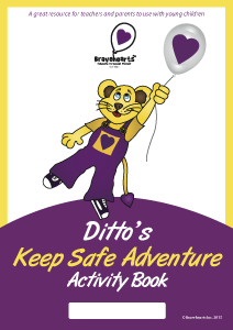 Ditto's Keep Safe Adventure Activity Book